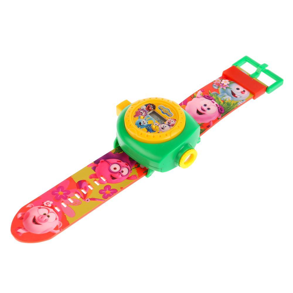 Купить Развивающие часы из серии Смешарики, с проектором, 24 кадра, несколько цветов, Умка