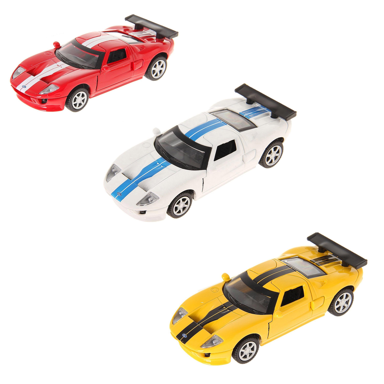 Машина металлическая инерционная - Ford GtFord<br>Машина металлическая инерционная - Ford Gt<br>