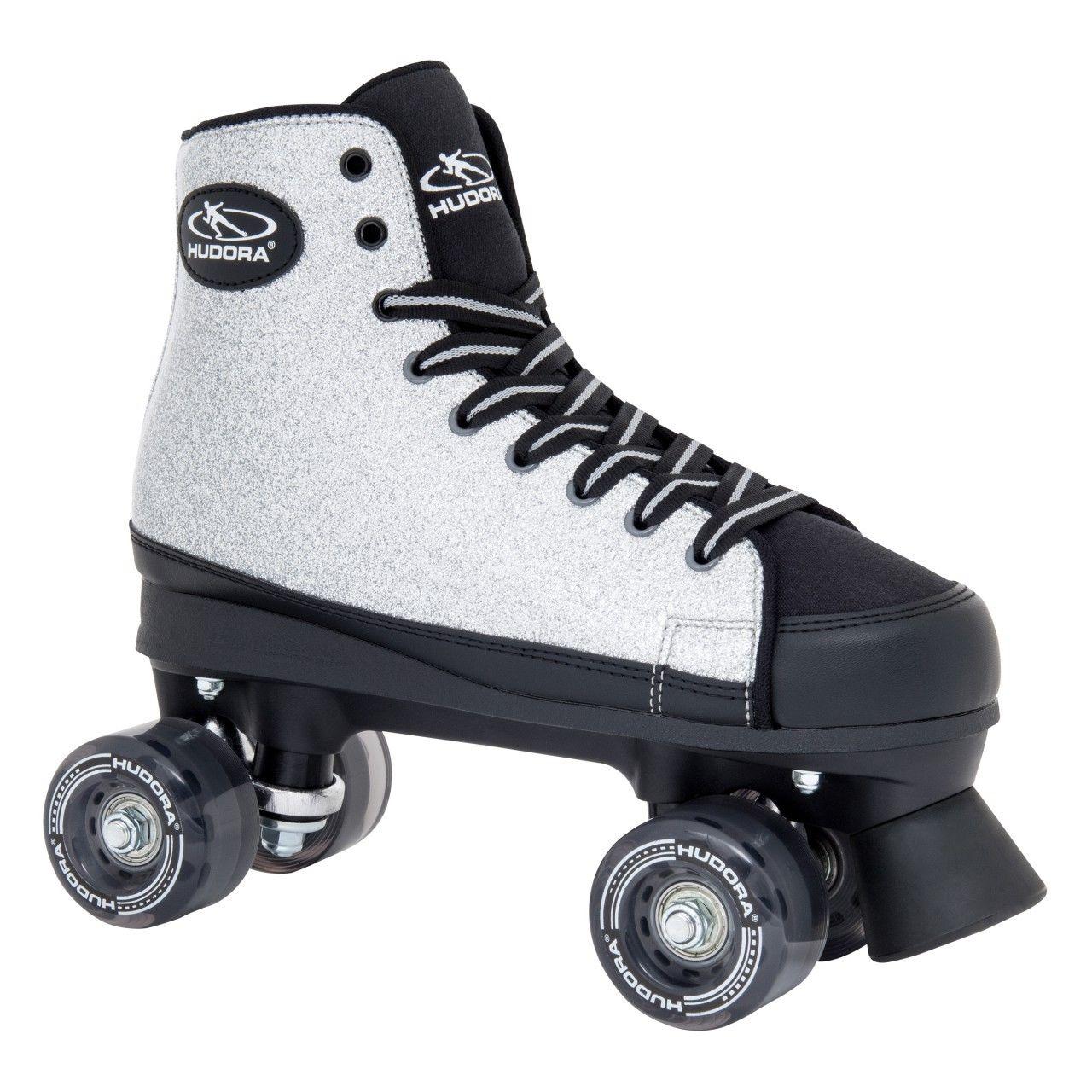 Купить Ролики Roller Skates Silver Glamour, размер 42, серые, Hudora