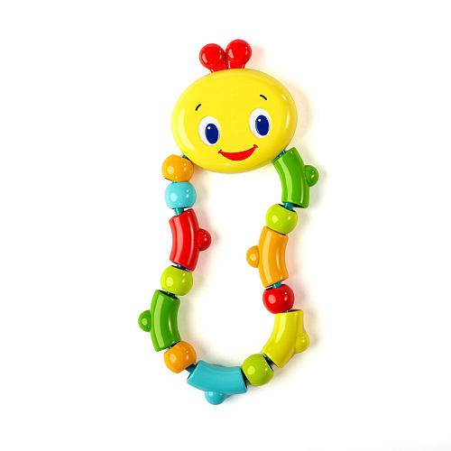 Развивающая игрушка-прорезыватель «Гусеничка»Детские погремушки и подвесные игрушки на кроватку<br>Развивающая игрушка-прорезыватель «Гусеничка»<br>