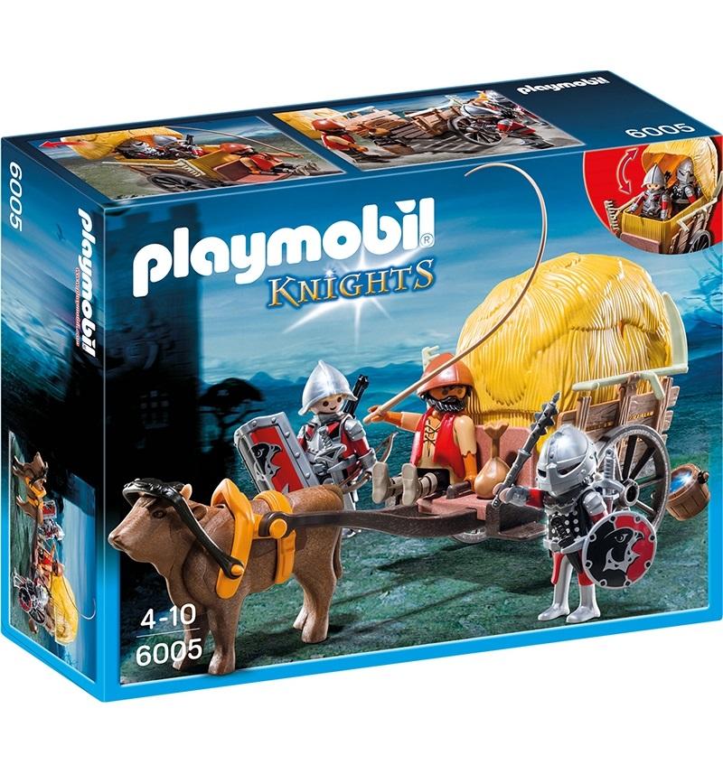 Купить Игровой набор из серии Рыцари: Рыцари Сокола с камуфляжной повозкой, Playmobil
