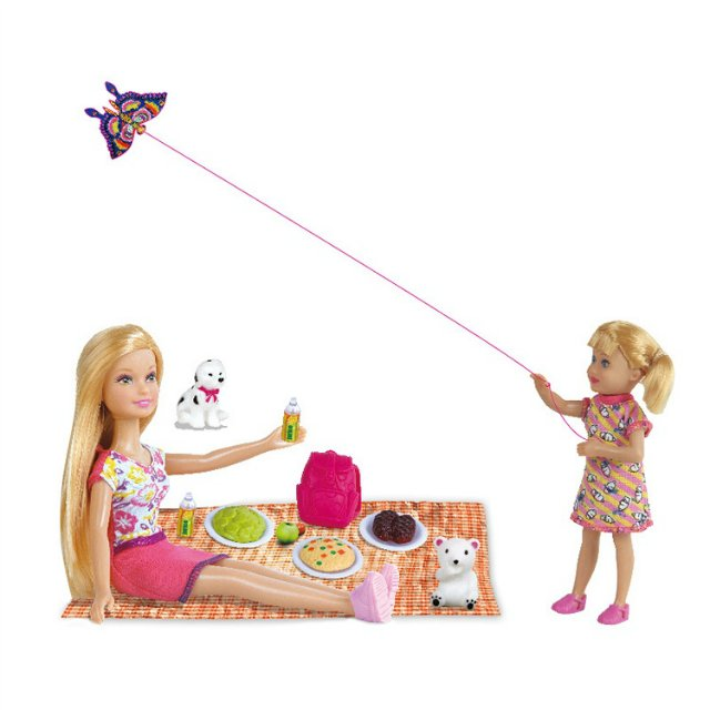 Набор из 2 кукол Lucy - Пикник - Мама и дитя с аксессуарамиКуклы Defa Lucy<br>Набор из 2 кукол Lucy - Пикник - Мама и дитя с аксессуарами<br>