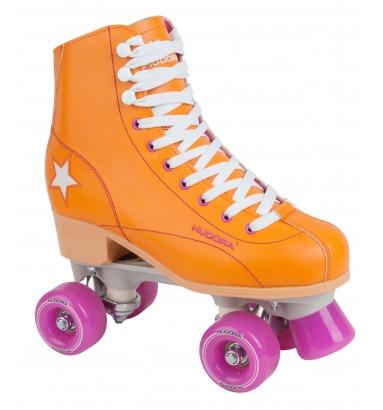 Купить Ролики-квады Hudora Rollschuh Roller Disco, 36, orange/lila