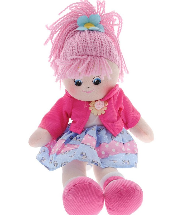 Кукла Земляничка, 40 см. - Мягкие куклы, артикул: 167324