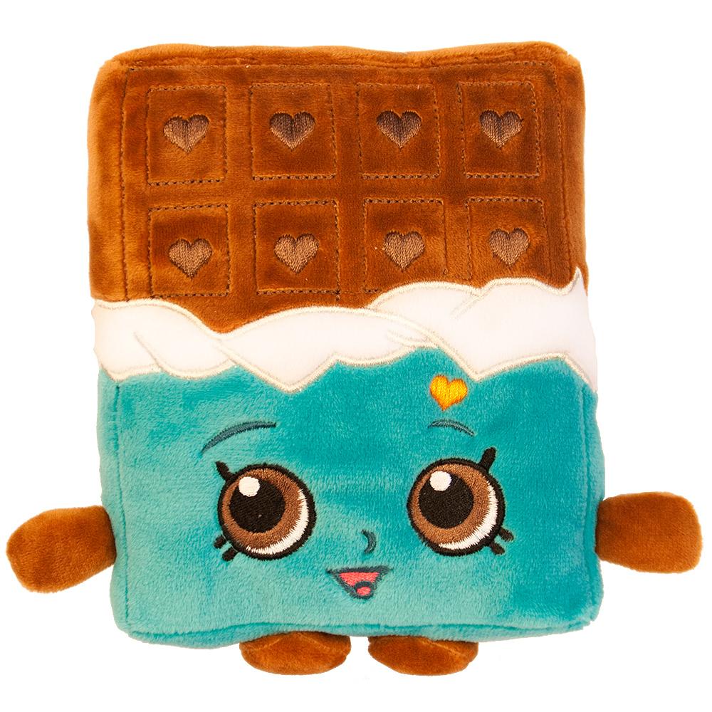 Мягкая игрушка – Шоколадка Чеки из серии Шопкинс, 20 см.Shopkins (Шопкинс)<br>Мягкая игрушка – Шоколадка Чеки из серии Шопкинс, 20 см.<br>