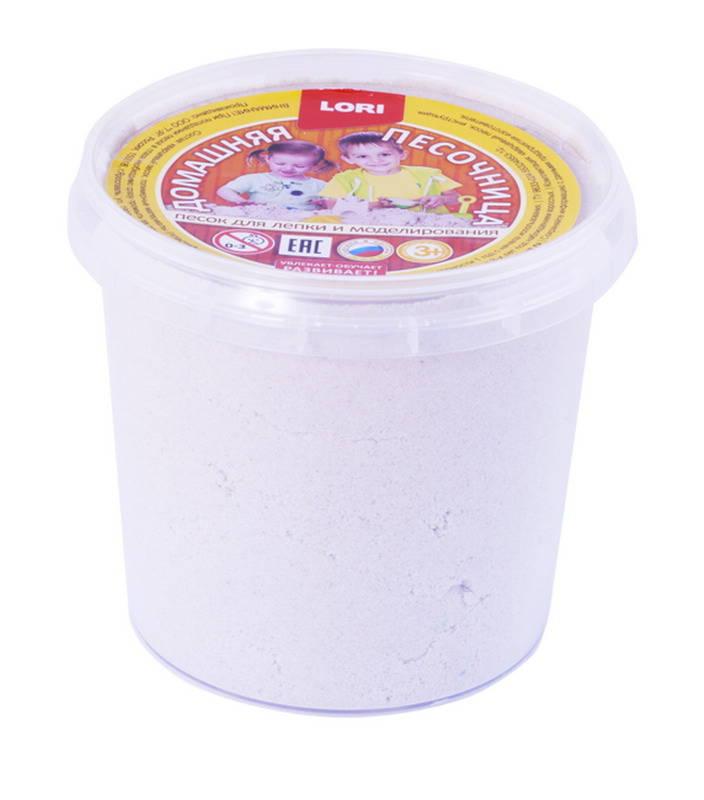 Купить Песочница домашняя - Морской песок, 0, 5 кг., ЛОРИ