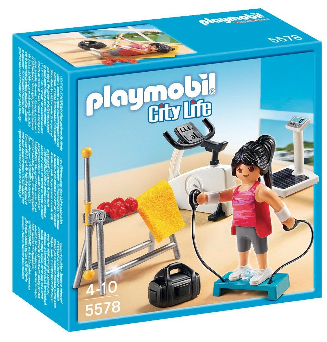Игровой набор из серии Особняки  Комната для фитнеса - Конструкторы Playmobil, артикул: 159038