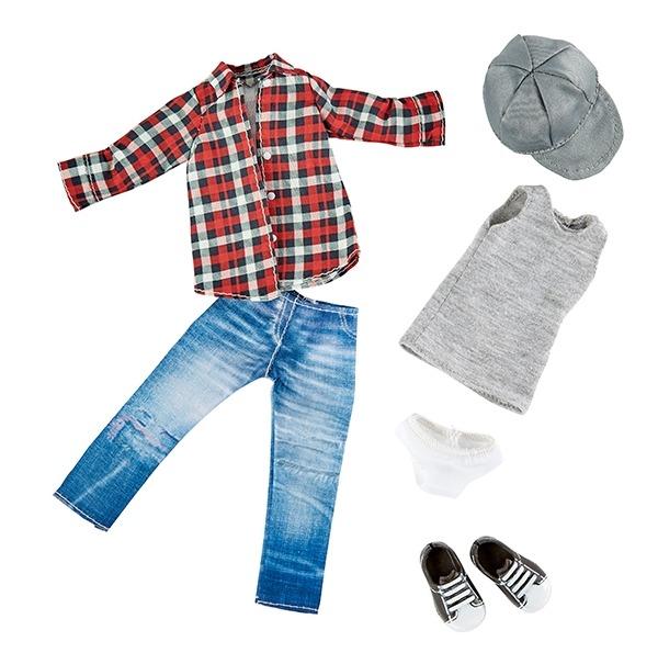 Одежда и обувь скейтера для куклы Михаэль Kruselings, 23 см