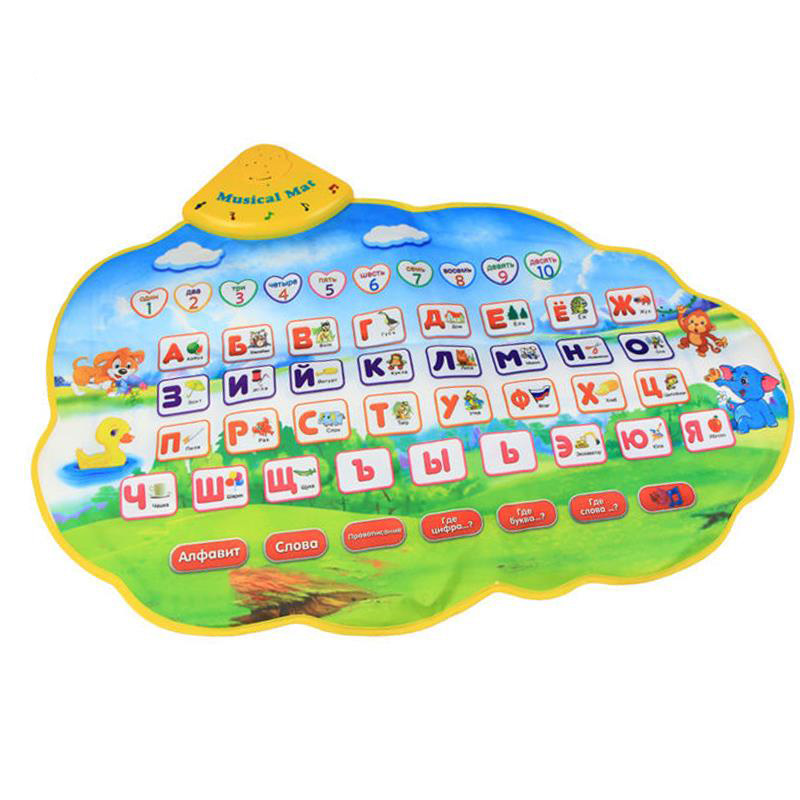 Коврик обучающий, звуковые и световые эффектыПрочие интерактивные игрушки<br>Коврик обучающий, звуковые и световые эффекты<br>