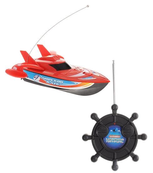 Катер на радиоуправлении Морской патруль от Toyway