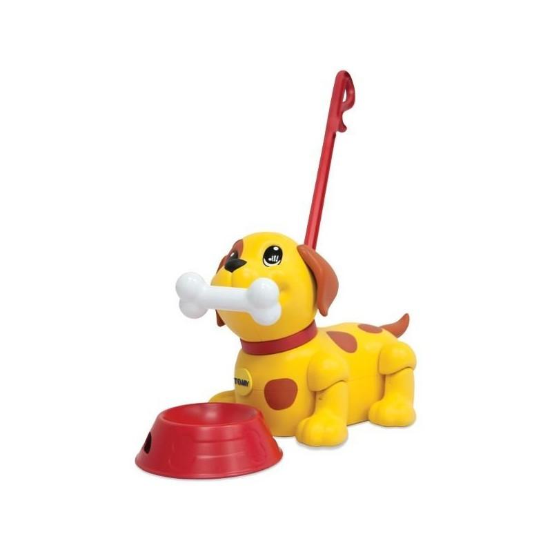 Интерактивный щенок  Погуляй со мной, с миской и косточкой - Интерактивные животные, артикул: 167412