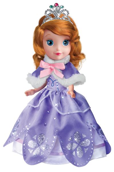 Озвученная кукла Disney Принцесса София, 25 см, с набором одеждыКуклы Карапуз<br>Озвученная кукла Disney Принцесса София, 25 см, с набором одежды<br>