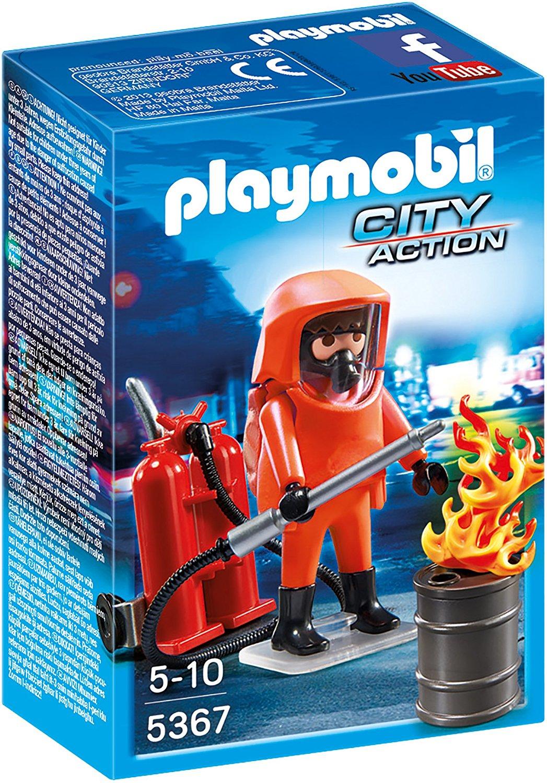 Игровой набор из серии Пожарная служба - Специальные пожарные силыФигурки людей<br>Игровой набор из серии Пожарная служба - Специальные пожарные силы<br>