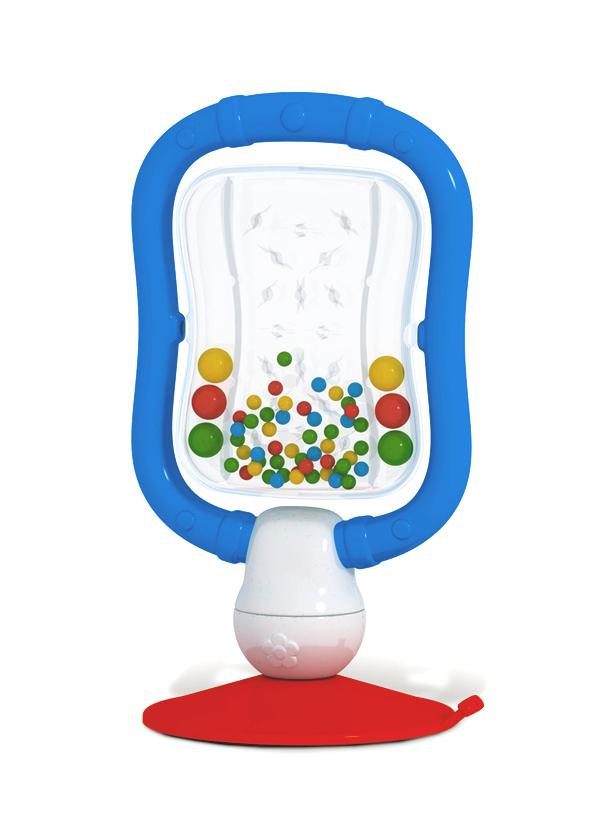 Погремушка «Микрофон» на присоскеДетские погремушки и подвесные игрушки на кроватку<br>Погремушка «Микрофон» на присоске<br>