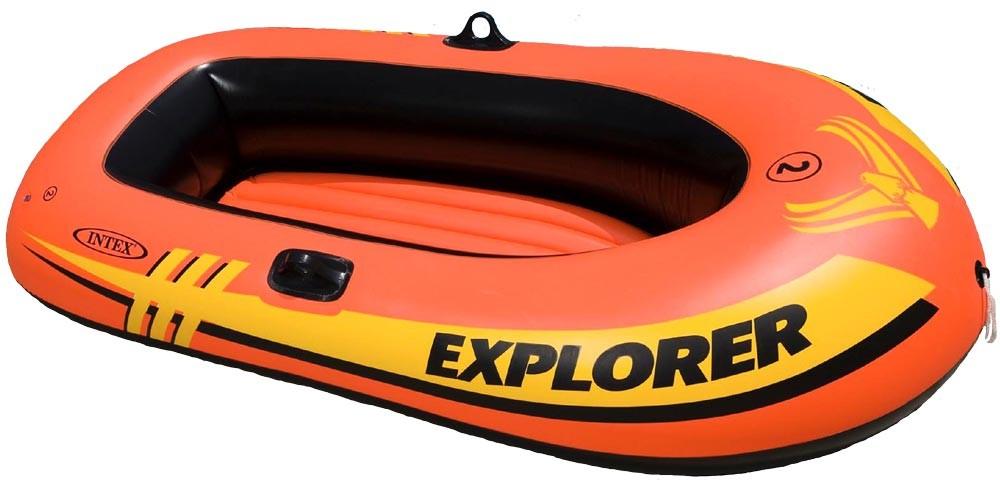 Лодка надувная Explorer 200, для 1-2 человек, нагрузка 95 кг. от Toyway