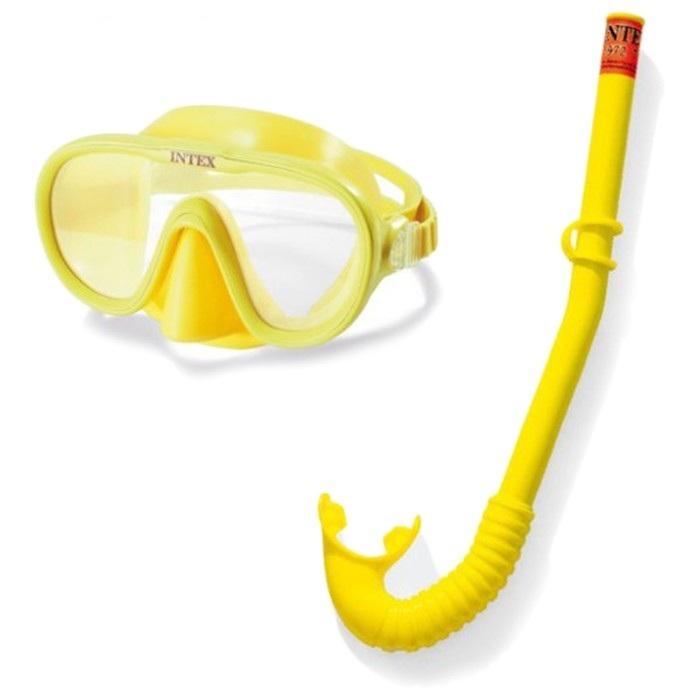 Набор для подводного плавания - Искатель приключений, маска, трубка