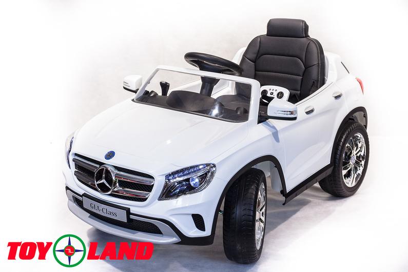 Электромобиль – Mercedes-Benz GLA R653, белый, свет и звукЭлектромобили, детские машины на аккумуляторе<br>Электромобиль – Mercedes-Benz GLA R653, белый, свет и звук<br>