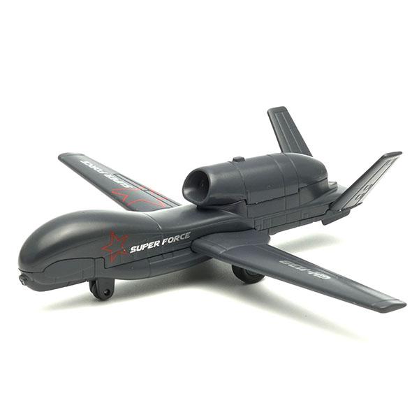Купить со скидкой Коллекционная модель военного самолета Super Force