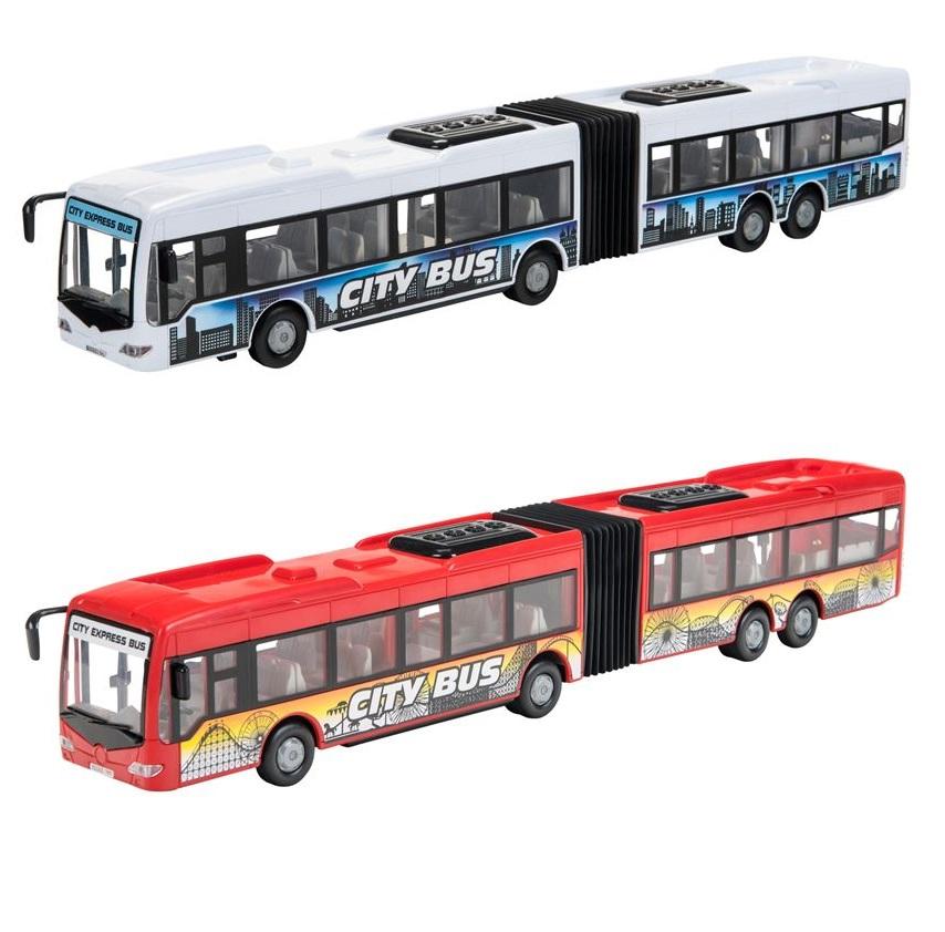 Городской автобус фрикционный, 2 вида, 1:43, 46 см.Городская техника<br>Городской автобус фрикционный, 2 вида, 1:43, 46 см.<br>