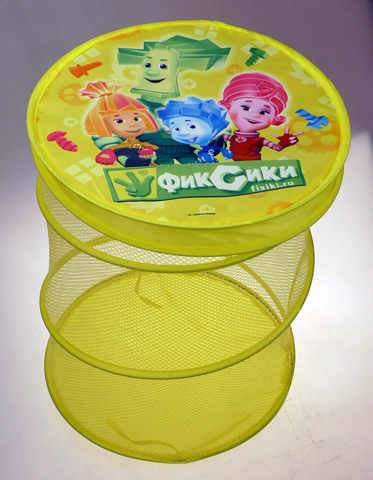 Корзина для игрушек - Фиксики 40 х 50 см, в пакетеКорзины для игрушек<br>Корзина для игрушек - Фиксики 40 х 50 см, в пакете<br>