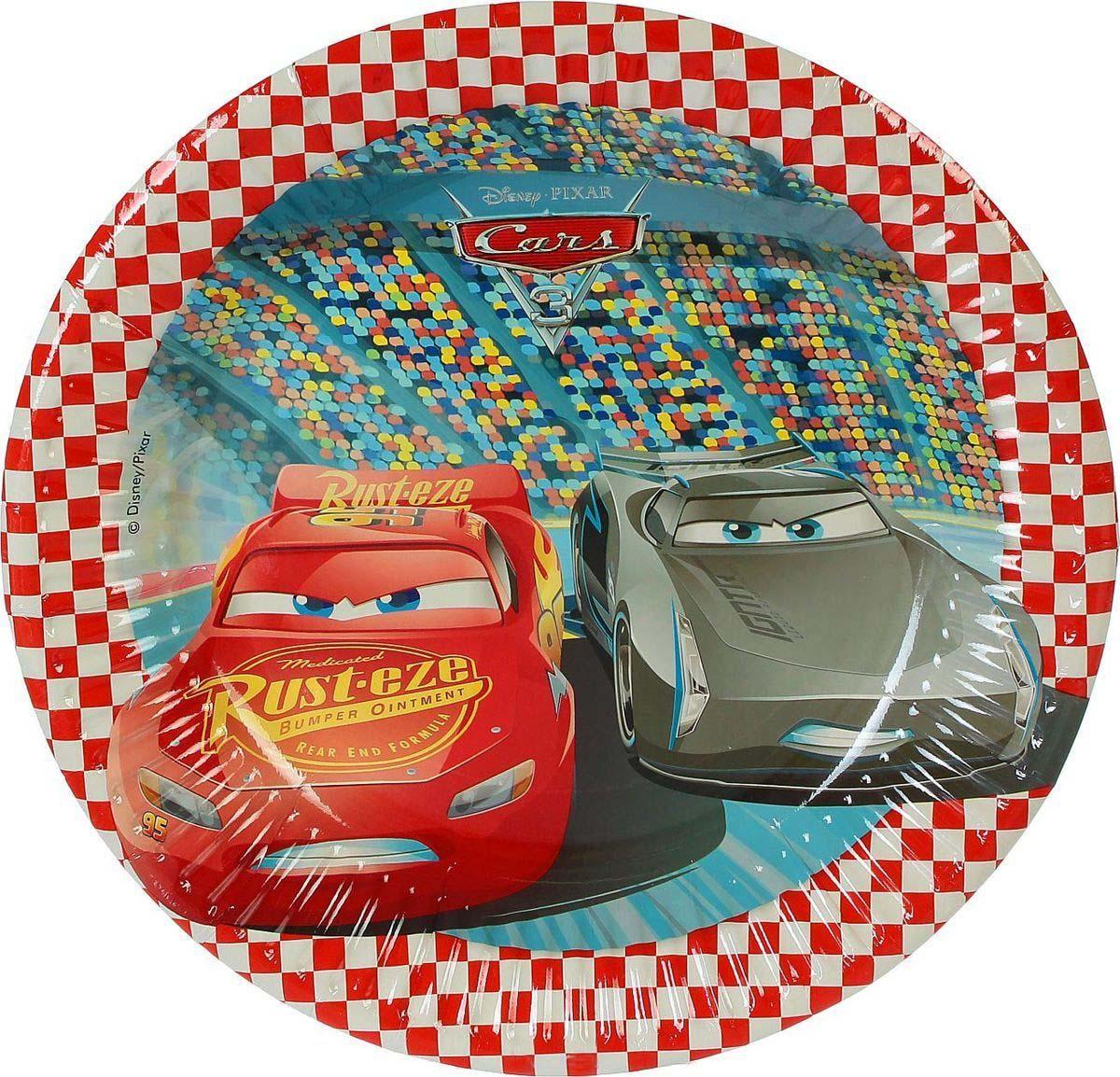 Набор тарелок – Тачки 3, 8 штукТачки<br>Набор тарелок – Тачки 3, 8 штук<br>
