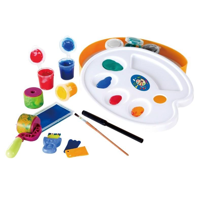 Игровой набор с палитрой для рисованияНаборы для рисования<br>Игровой набор с палитрой для рисования<br>