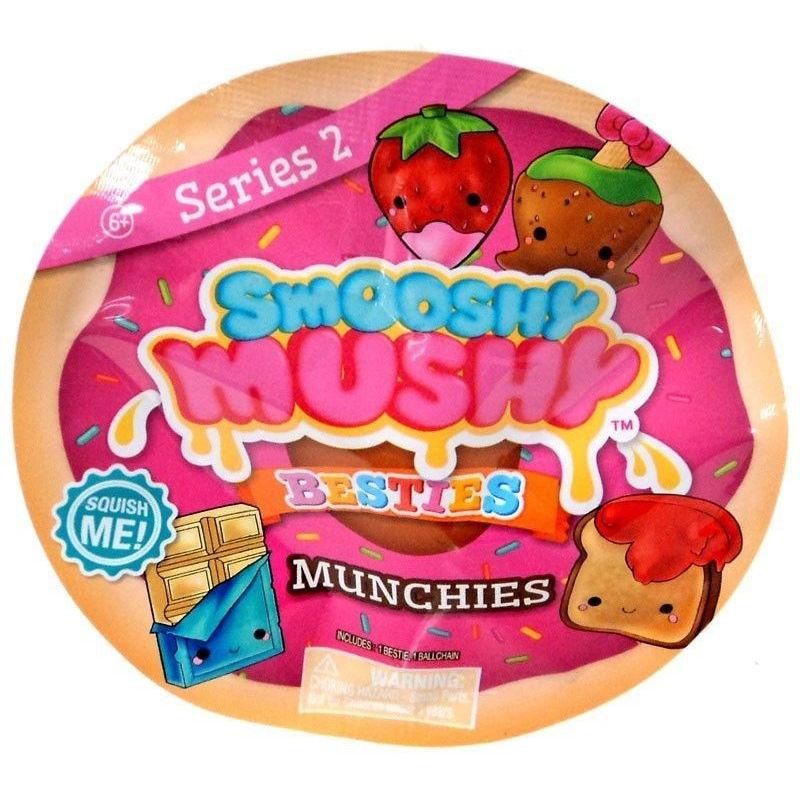 Купить Игрушка-сюрприз Smooshy Mushy Besties – Вкусняшки, 2 серия, Redwood
