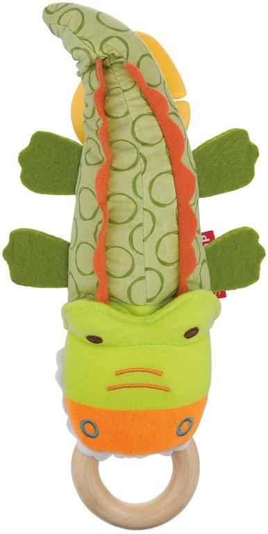 Развивающая игрушка на коляску КрокодилДетские погремушки и подвесные игрушки на кроватку<br>Развивающая игрушка на коляску Крокодил<br>