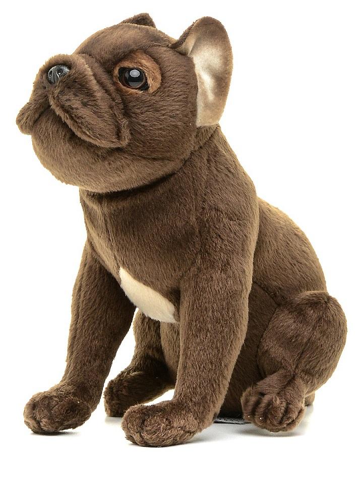 Мягкая игрушка - Щенок французского бульдога, 20 см.Собаки<br>Мягкая игрушка - Щенок французского бульдога, 20 см.<br>