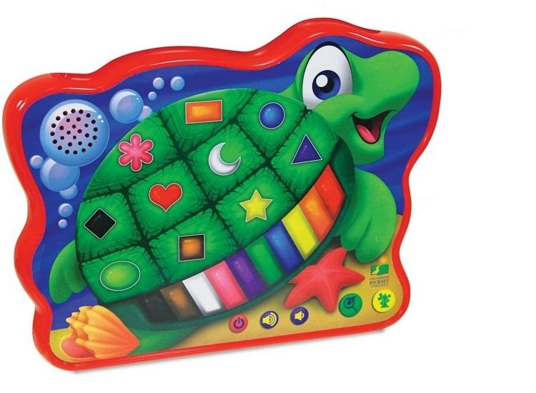 Весёлая морская черепашка со звуковым и световым эффектамиИнтерактивные игрушки<br>Весёлая морская черепашка со звуковым и световым эффектами<br>
