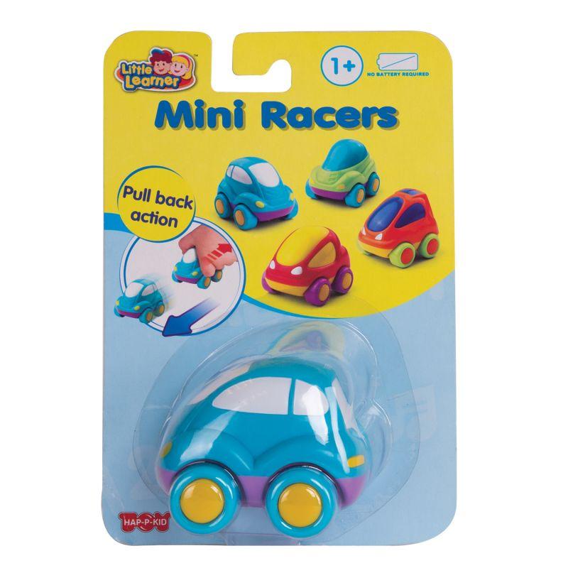 Инерционная гоночная машина Mini Racers, синяяМашинки для малышей<br>Инерционная гоночная машина Mini Racers, синяя<br>