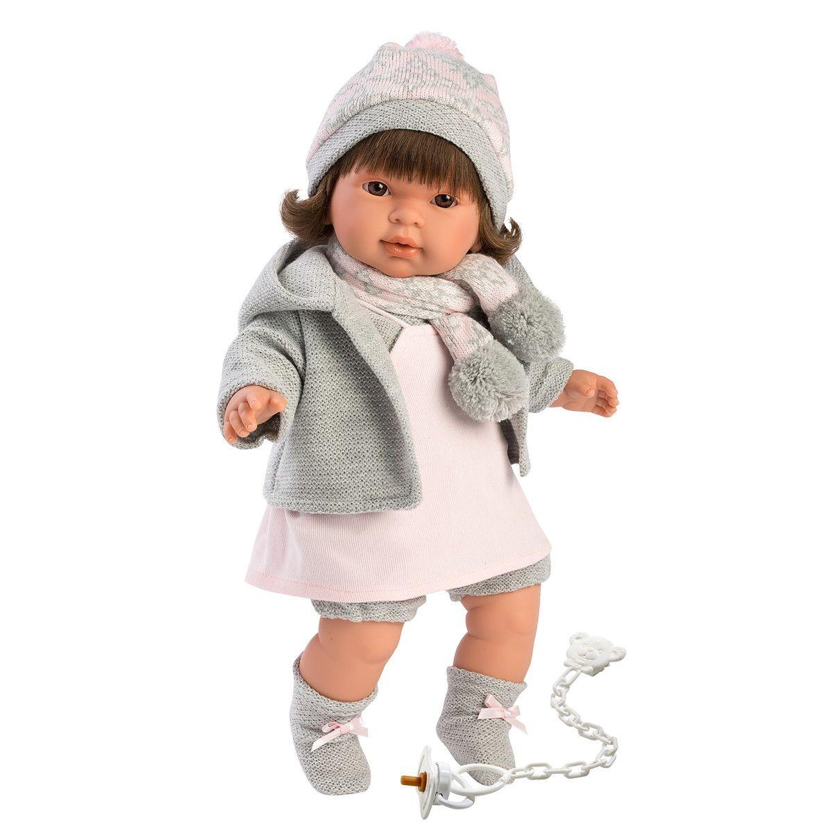Купить Интерактивная кукла - Пиппа, 42 см, со звуком, Llorens Juan