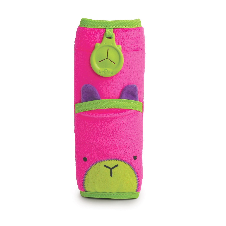 Купить Накладка-чехол для ремня безопасности – Заяц, розовый, Trunki