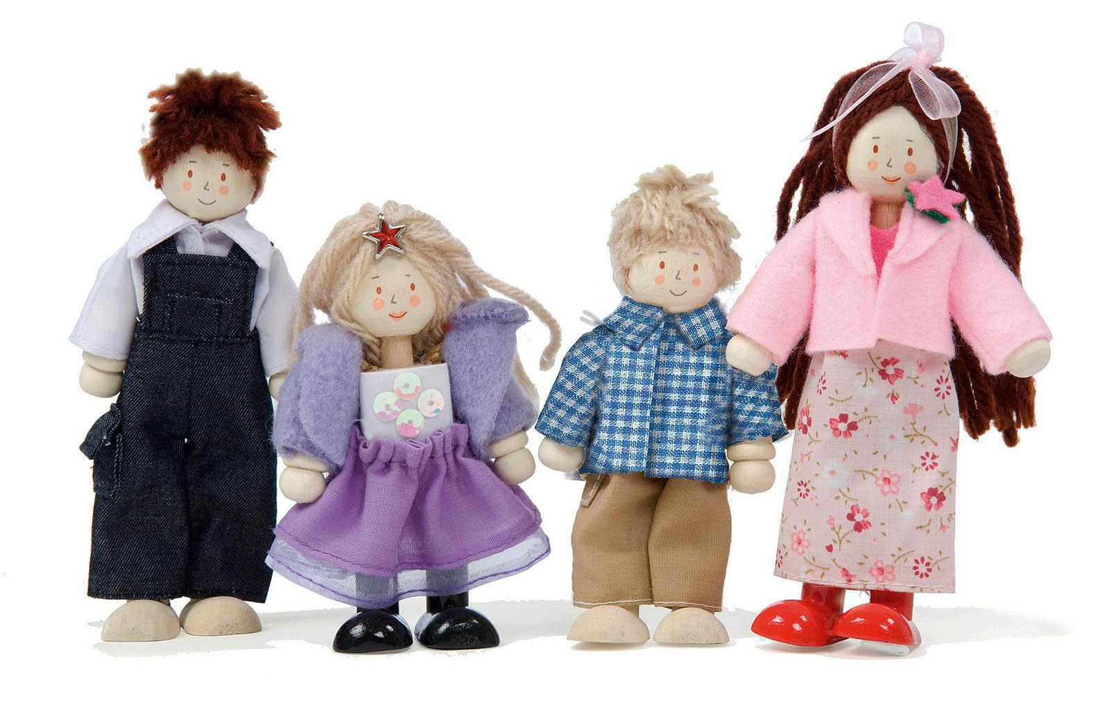 Куклы в наборе «Кукольная семья»Кукольные домики<br>Куклы в наборе «Кукольная семья»<br>