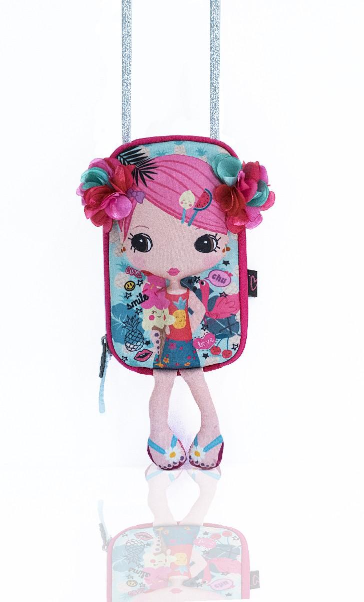Сумочка-куколка - Цветочек