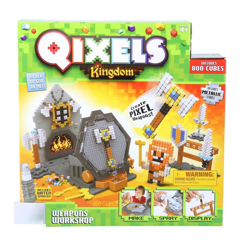 Набор для творчества Qixels  Королевство. Оружейная мастерская - Детский 3D принтер QIXELS, артикул: 163226