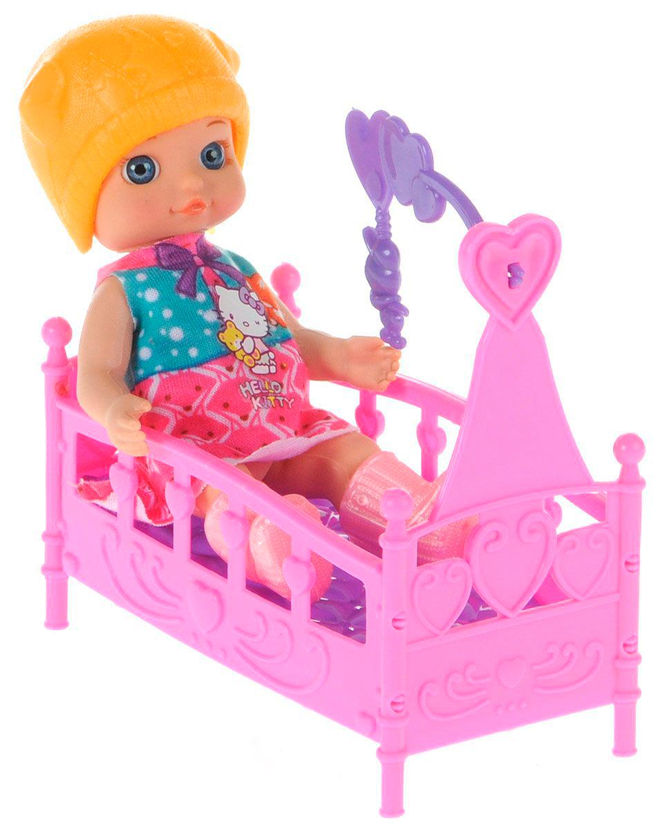 Кукла Hello Kitty – Моя подружка Машенька, 12 см с аксессуарамиКуклы Карапуз<br>Кукла Hello Kitty – Моя подружка Машенька, 12 см с аксессуарами<br>