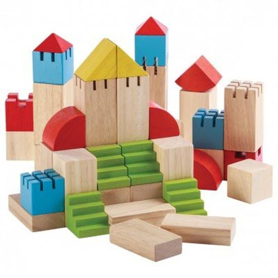 Деревянный конструктор – БлокиДеревянный конструктор<br>Деревянный конструктор – Блоки<br>