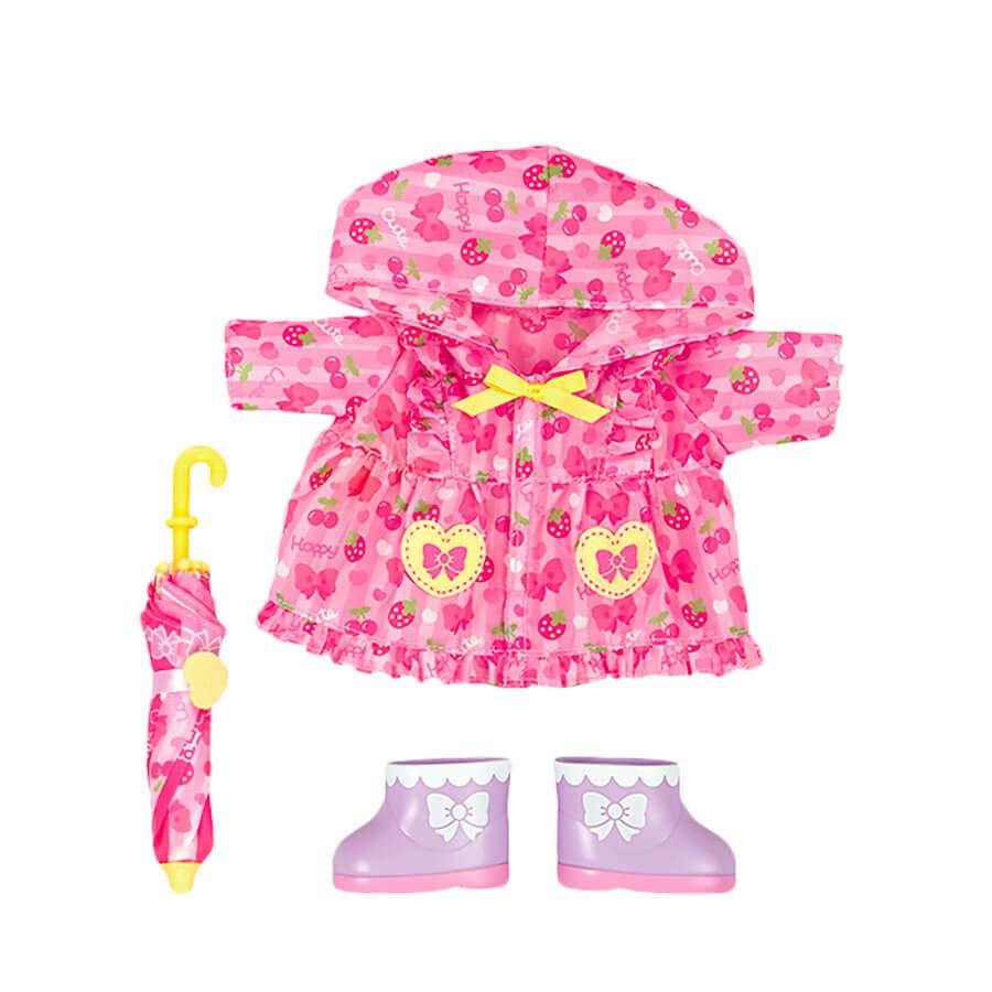 Комплект одежды Дождевик для куклы Мелл