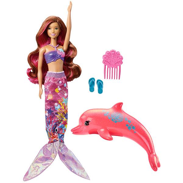 Кукла Barbie ® из серии Морские приключения - Русалка-трансформерКуклы Barbie (Барби)<br>Кукла Barbie ® из серии Морские приключения - Русалка-трансформер<br>