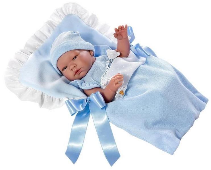 Кукла – Пабло в голубом конверте, 43 см. ASI фото