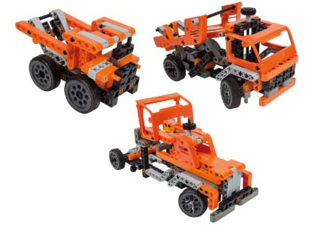Конструктор Clementoni - Транспортные и карьерные грузовики