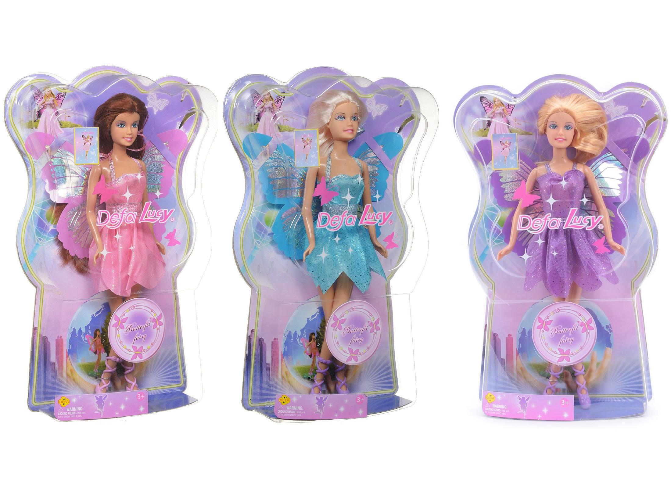 Кукла - Фея-бабочка, 29 смКуклы Defa Lucy<br>Кукла - Фея-бабочка, 29 см<br>