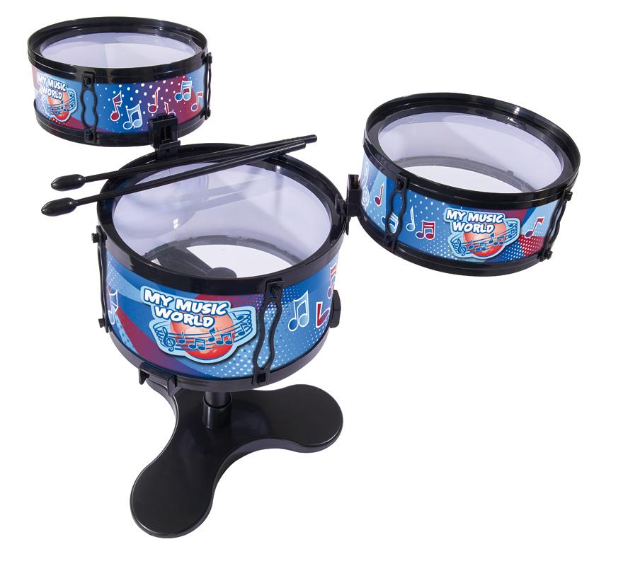 Настольная барабанная установкаБарабаны, маракасы<br>Настольная барабанная установка<br>