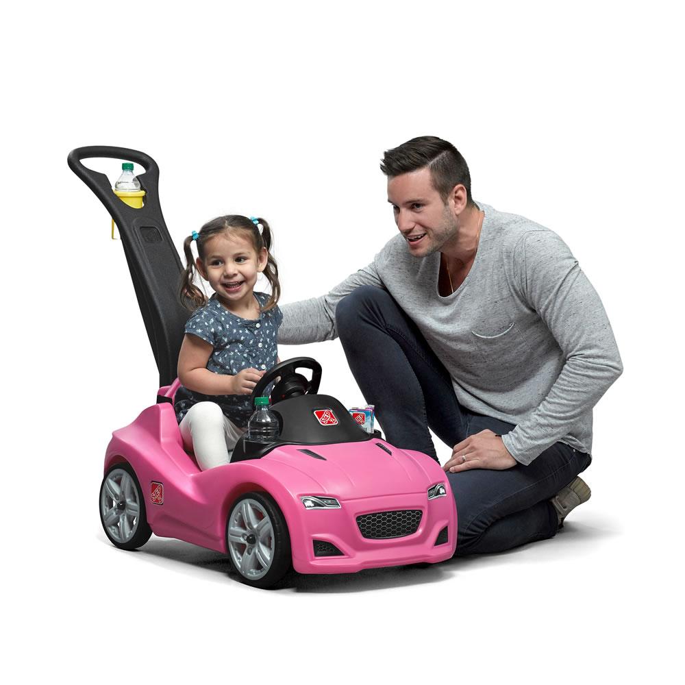 Каталка – Прогулка, розоваяМашинки-каталки для детей<br>Каталка – Прогулка, розовая<br>