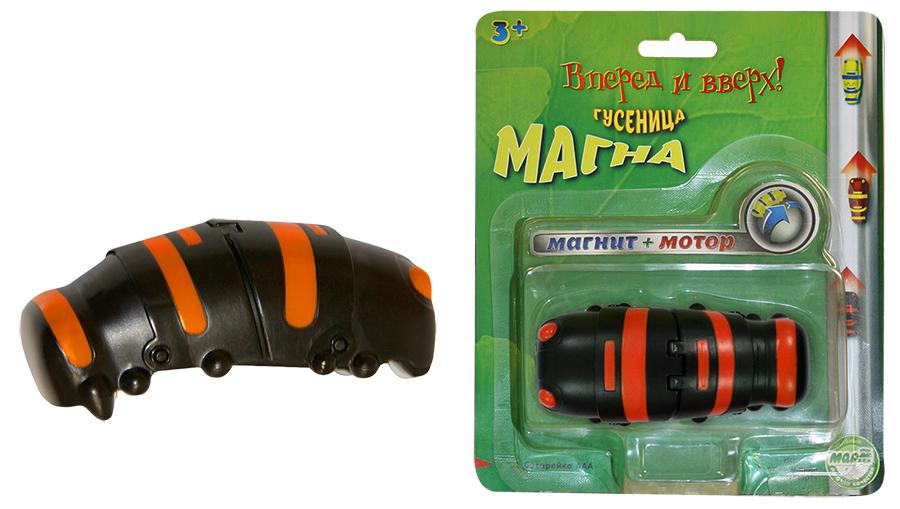 Гусеница Магна, магнитная, чернаяМальчикам<br>Гусеница Магна, магнитная, черная<br>