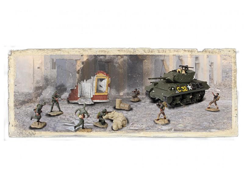 Диорама – танк М10 с набором солдат 1944 год, США, 1:72Военная техника<br>Диорама – танк М10 с набором солдат 1944 год, США, 1:72<br>
