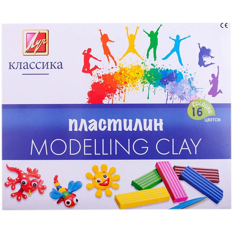 Пластилин – Классика, 16 цветовНаборы для лепки<br>Пластилин – Классика, 16 цветов<br>
