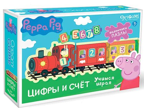 Peppa Pig. Игра настольна – Паровозик. Цифры и счетСвинка Пеппа (Peppa Pig )<br>Peppa Pig. Игра настольна – Паровозик. Цифры и счет<br>