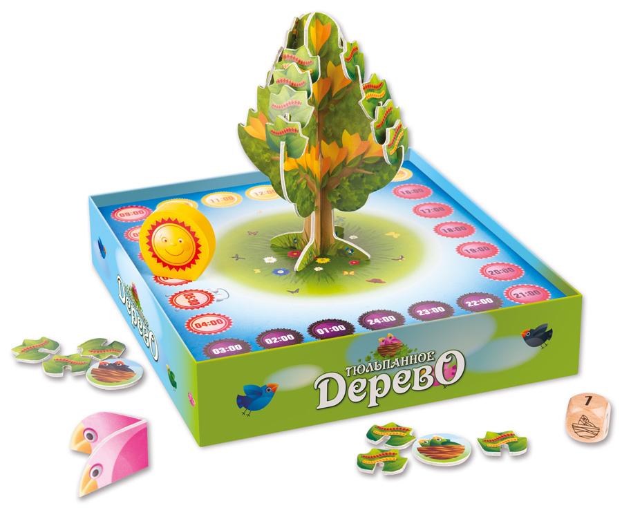 Игра настольная - Тюльпанное дерево от Step Puzzle, 76553 ...